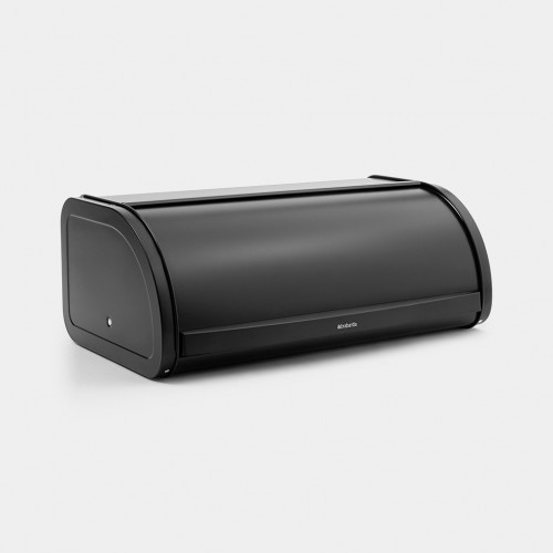 Кутия за хляб Brabantia Roll Top Matt Black - 1