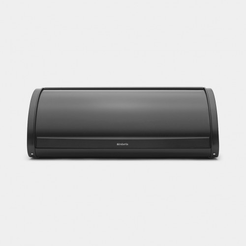 Кутия за хляб Brabantia Roll Top Matt Black - 2