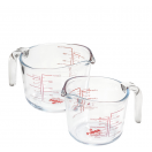 Стъклена мерителна кана 1 л