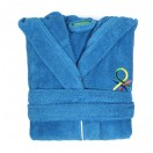 Детски халат за баня Benetton Casa 7-9 години син