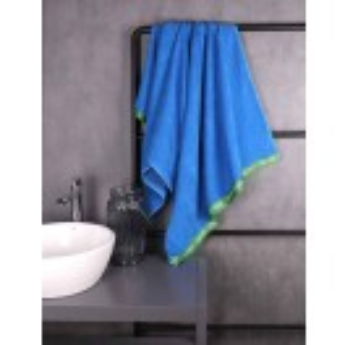 Плажна кърпа Benetton Casa 90х160 см памук Terry синя