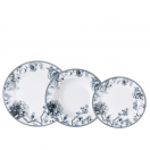 Комплект порцеланови чинии 18 части Brunchfield Olivia