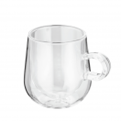 Комплект 2 броя двустенни чаши за лате 275 мл