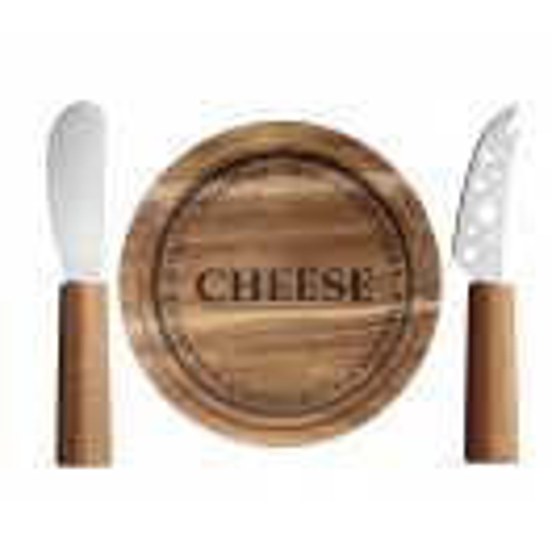 Комплект дъска за сирене и два ножа Judge