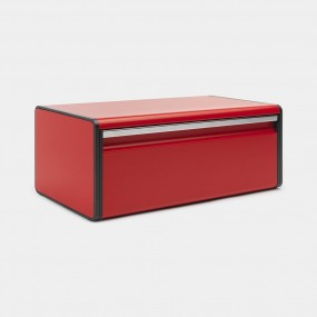 Кутия за хляб Brabantia Fall Front, Passion Red